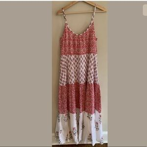 Roberta Roller Rabbit Dresses - Roller Rabbit Mason Maxi Dakota Dress Pink Print
